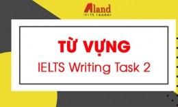 Trọn bộ từ vựng IELTS Writing task 2 hay nhất