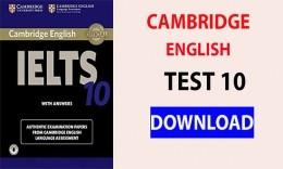 Review + file PDF: sách luyện thi Cambridge IELTS 10 bản upđate mới nhất