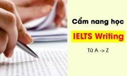 Cẩm nang học IELTS Writing [Chi tiết nhất từ A -> Z]