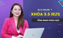 Khóa học IELTS Online Band 5.5