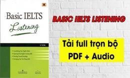 Cuốn sách dành cho người mới bắt đầu - Basic IELTS Listening