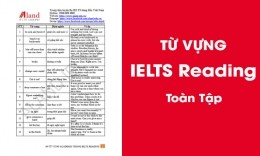 Từ vựng IELTS Reading toàn tập [Chi tiết theo từng chủ đề]