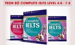Trọn bộ Complete IELTS Level 4.0 - 7.5 (file PDF bản đẹp)
