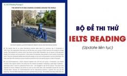 Bộ đề thi thử IELTS Reading mới nhất (Update liên tục)