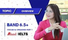 Khóa Bồi Dưỡng Từ Vựng Cho Speaking Part 1 (Target 6.5+)