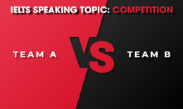 IELTS Speaking Part 2 & 3 - Topic: Competition