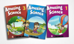 Trẻ học tiếng Anh toàn diện cùng Amazing Science 1, 2, 3
