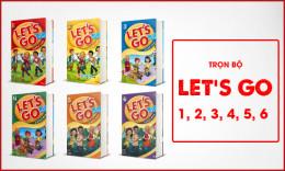 Bé học tiếng Anh siêu nhanh với bộ Let's Go 1, 2, 3, 4, 5, 6
