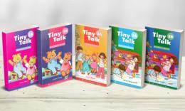 Tải bộ sách tiếng Anh mầm non Tiny Talk 1, 2, 3 [Bản đẹp]