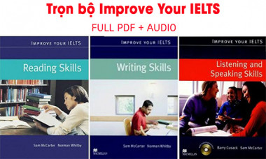 Download trọn bộ Improve your IELTS 4 kỹ năng - Aland IELTS