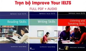 Download trọn bộ Improve your IELTS 4 kỹ năng - Aland IELTS