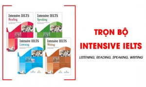 Review Intensive IELTS Listening, Reading, Speaking, Writing