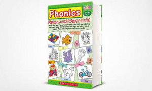 Phonics Pictures and Word Cards: Vui học tiếng Anh cùng trẻ