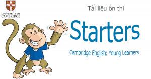 7 đề thi thử Starters Cambridge tốt nhất