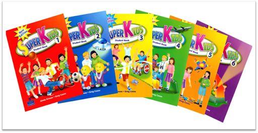Download trọn bộ sách Superkids Level 1, 2, 3, 4, 5, 6