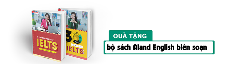 Bộ sách IELTS do Aland English biên soạn