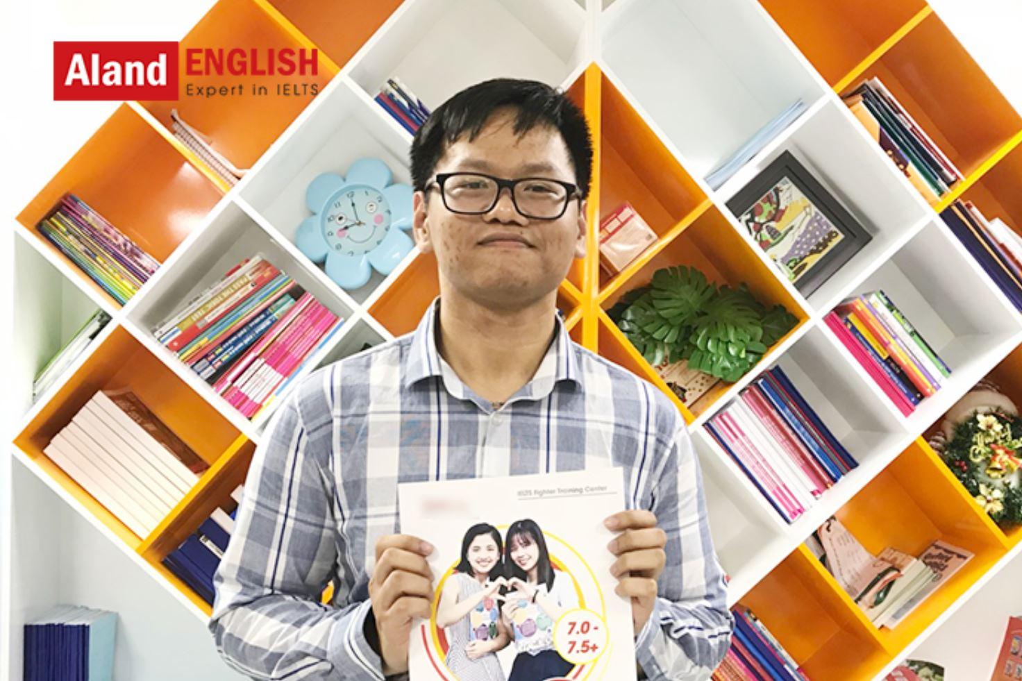 học viên điểm cao ielts Aland English