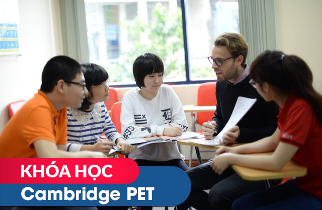 Khóa học Cambridge PET