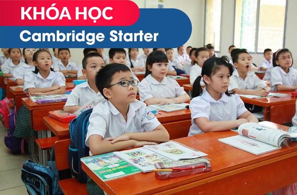 Khóa học Cambridge Starter