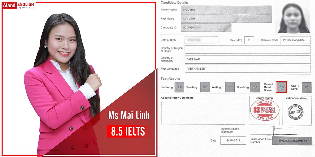 Ms Mai Linh - chuyên gia IELTS